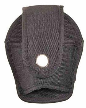 Handfessel Holster aus Nylon in schwarz