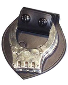 Schnellverschluss für Handschellen mit Schutzplatte