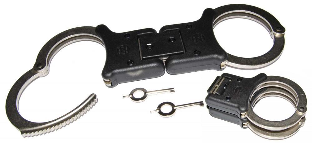 TCH Handschelle 850 starr und klappbar vernickelt